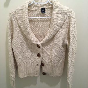 Gap cream knit sweater.